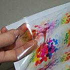 Печать на прозрачной виниловой самоклеющейся пленке 140 гр., фото 2