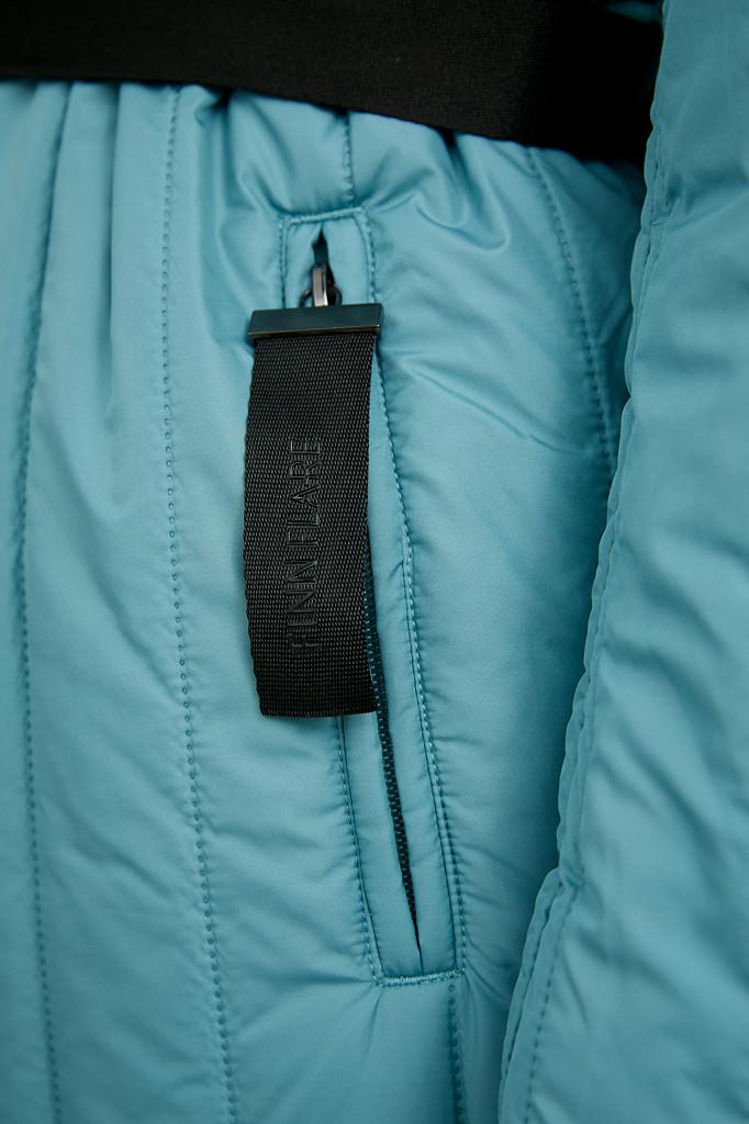 Пальто женское Finn Flare, цвет темно-бирюзовый, размер S - фото 5