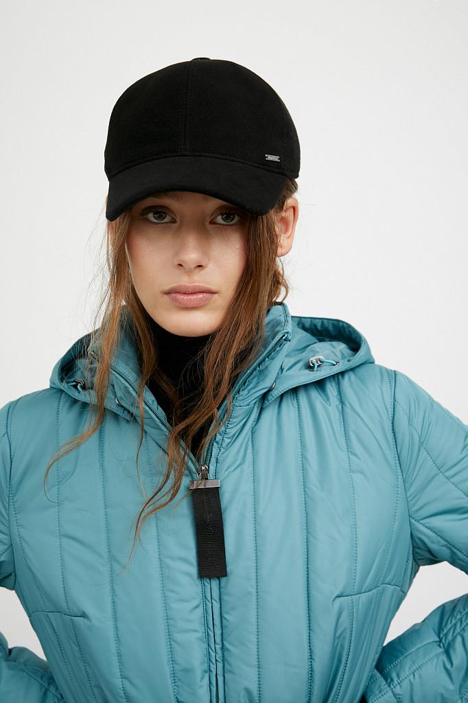Пальто женское Finn Flare, цвет темно-бирюзовый, размер S - фото 7