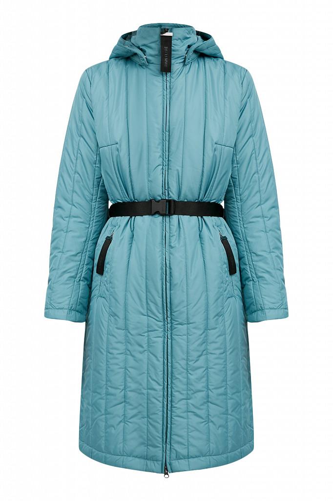 Пальто женское Finn Flare, цвет темно-бирюзовый, размер S - фото 9