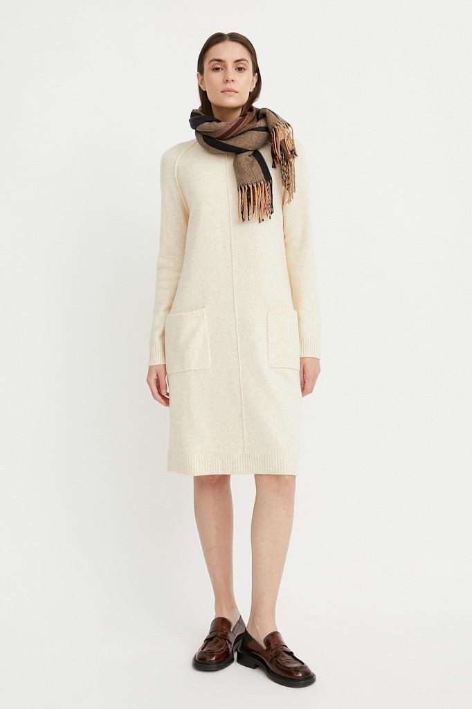 Платье женское Finn Flare, цвет молочный, размер XS - фото 1