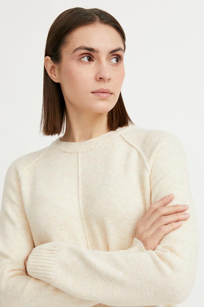 Платье женское Finn Flare, цвет молочный, размер XS - фото 5