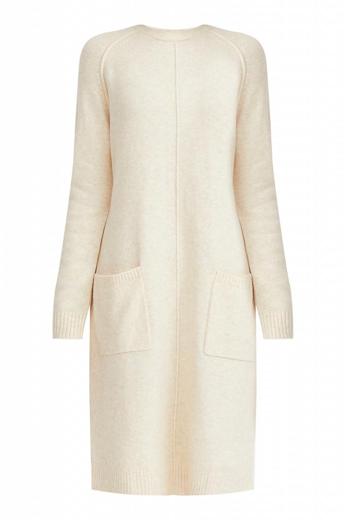 Платье женское Finn Flare, цвет молочный, размер XS - фото 7