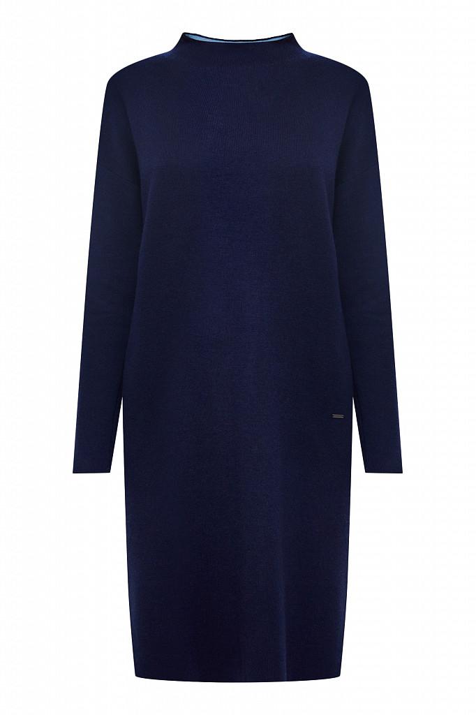 Платье женское Finn Flare, цвет темно-синий, размер XS - фото 7