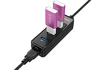 USB-концентратор Orico W5PH4-U3 (черный), фото 4