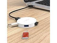 USB-концентратор Orico HA4U-U3 (белый), фото 4