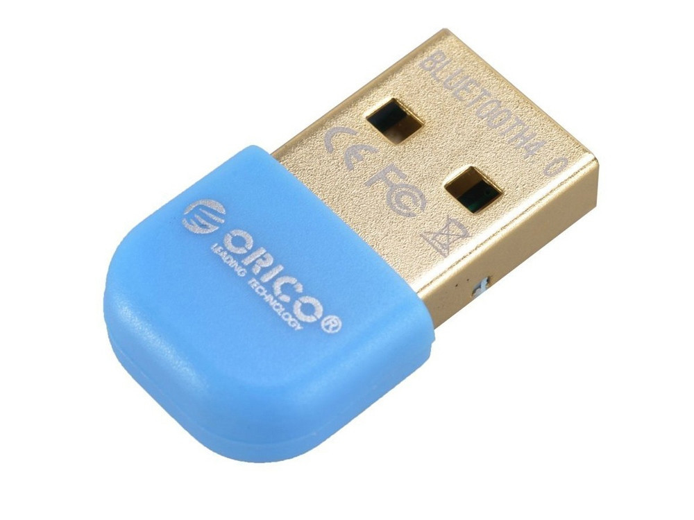 Адаптер USB Bluetooth Orico BTA-403 (синий)