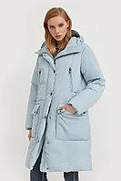 Пальто женское Finn Flare, цвет светло-голубой, размер S