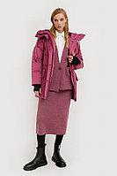 Полупальто женское Finn Flare, цвет лиловый, размер XS