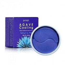 Патчи под глаза с экстрактом агавы Petitfee Agave Cooling Hydrogel Eye Mask