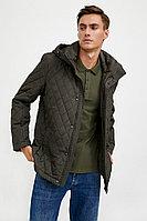 Куртка мужская Finn Flare, цвет темно-коричневый, размер 4XL
