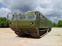 Гусеничный топливомаслозаправщик ГТМЗ-14-30ПМ