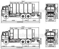 Сортиментовоз МАЗ 6317Х9-460(465)-000