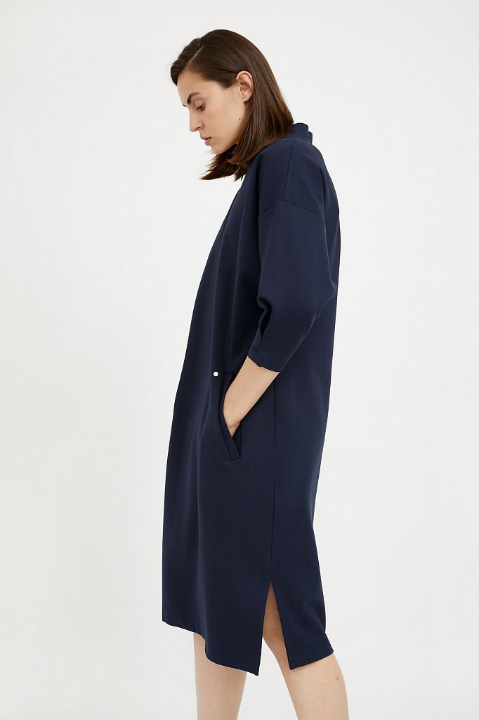 Платье женское Finn Flare, цвет темно-синий, размер XL - фото 3