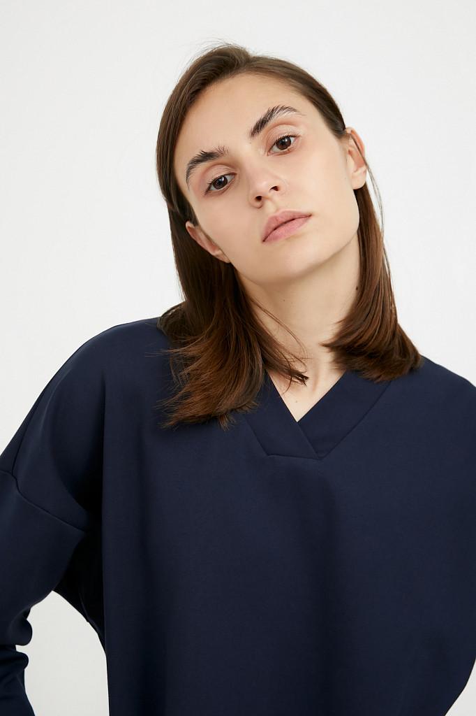 Платье женское Finn Flare, цвет темно-синий, размер XL - фото 6