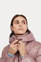 Куртка женская Finn Flare, цвет серо-розовый, размер 2XL