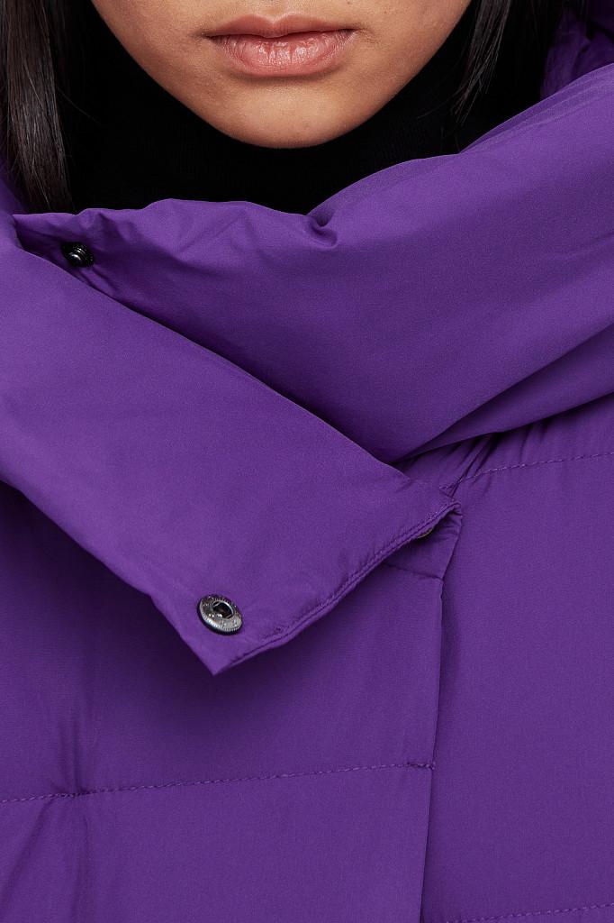 Пальто женское Finn Flare, цвет garza (сиреневый), размер 2XL - фото 5