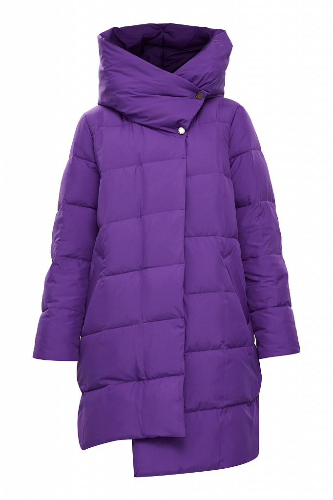 Пальто женское Finn Flare, цвет garza (сиреневый), размер 2XL - фото 7