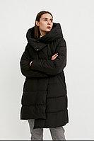 Пальто женское Finn Flare, цвет черный, размер 4XL