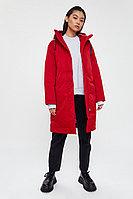 Пальто женское Finn Flare, цвет красный, размер 2XL