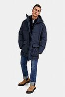 Полупальто мужское Finn Flare, цвет темно-синий, размер XL