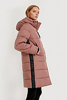 Пальто женское Finn Flare, цвет коричневый, размер 2XL