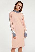 Платье женское Finn Flare, цвет светло-розовый, размер S