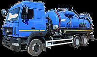 Комбинированная каналопромывочная машина