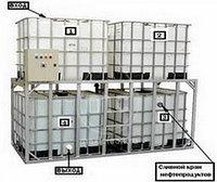 (100-056) Напольный грязеотстойник для автомойки 8000 литров