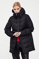 Пальто женское Finn Flare, цвет черный, размер 5XL