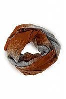 Шарф женский Finn Flare, цвет коричневый, размер