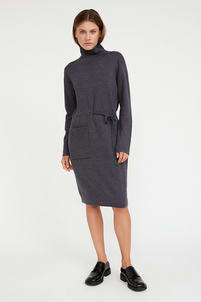 Платье женское Finn Flare, цвет серый, размер M - фото 2
