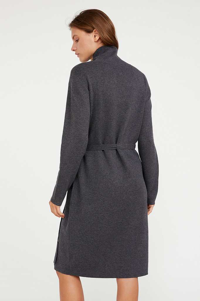 Платье женское Finn Flare, цвет серый, размер M - фото 4