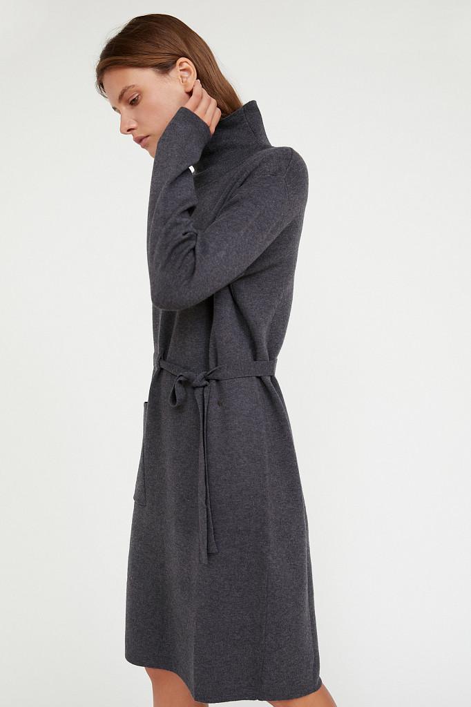 Платье женское Finn Flare, цвет серый, размер S - фото 3