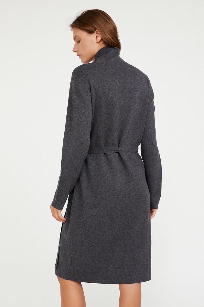 Платье женское Finn Flare, цвет серый, размер S - фото 4