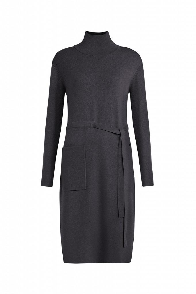 Платье женское Finn Flare, цвет серый, размер S - фото 6