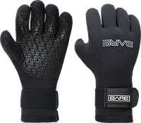 Перчатки пятипалые Bare 5 мм
