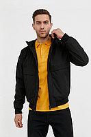 Непромокаемая ветровка с капюшоном Finn Flare, цвет черный, размер M