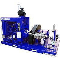 Серия аппаратов высокого давления Посейдон 125 л.с. в исполнении на раме