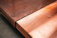 Бронзовая плита БрАЖ9-4 40х500х1500