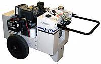 Гидростанция с дизельным приводом D-19D55-35-W на 2 инструмента