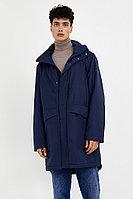 Пальто мужское Finn Flare, цвет темно-синий, размер M