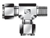 Ввертной тройник с боковым отводом DTRM-N
