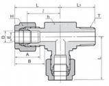 Ввертной тройник с боковым отводом DTRM-N, фото 2