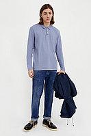 Поло мужское Finn Flare, цвет голубой, размер L