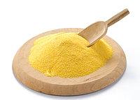 Шлифованная кукурузная крупа желтая