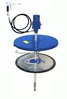 Система раздачи смазки, стационарная для емкостей 200кг для,Ø 540-590мм, шланг 4м пр-во Германии