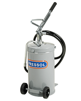 Передвижной маслораздатчик Емкость 14 л, ручной пр-во Германии (Pressol)