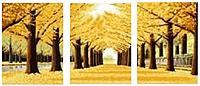 Алмазная вышивка «Золотая осень», Love you wei