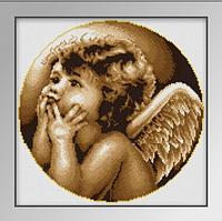 Алмазная вышивка «Ангел», Love you wei